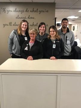 pulmonary rehab team