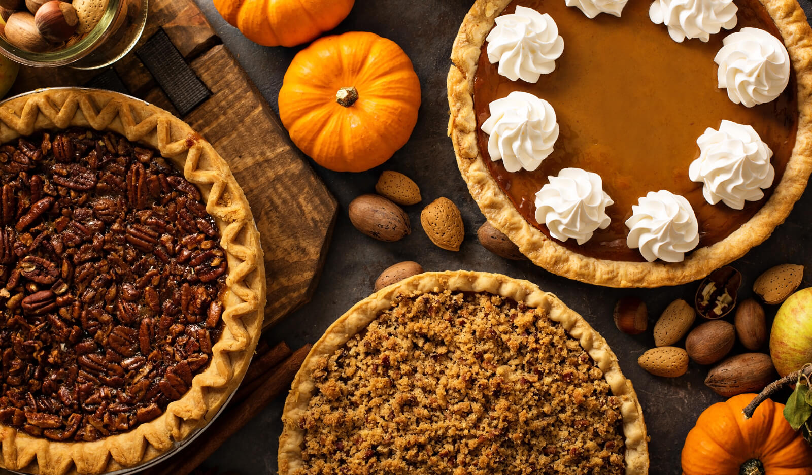 Tempting-yet-unhealthy Thanksgiving pies