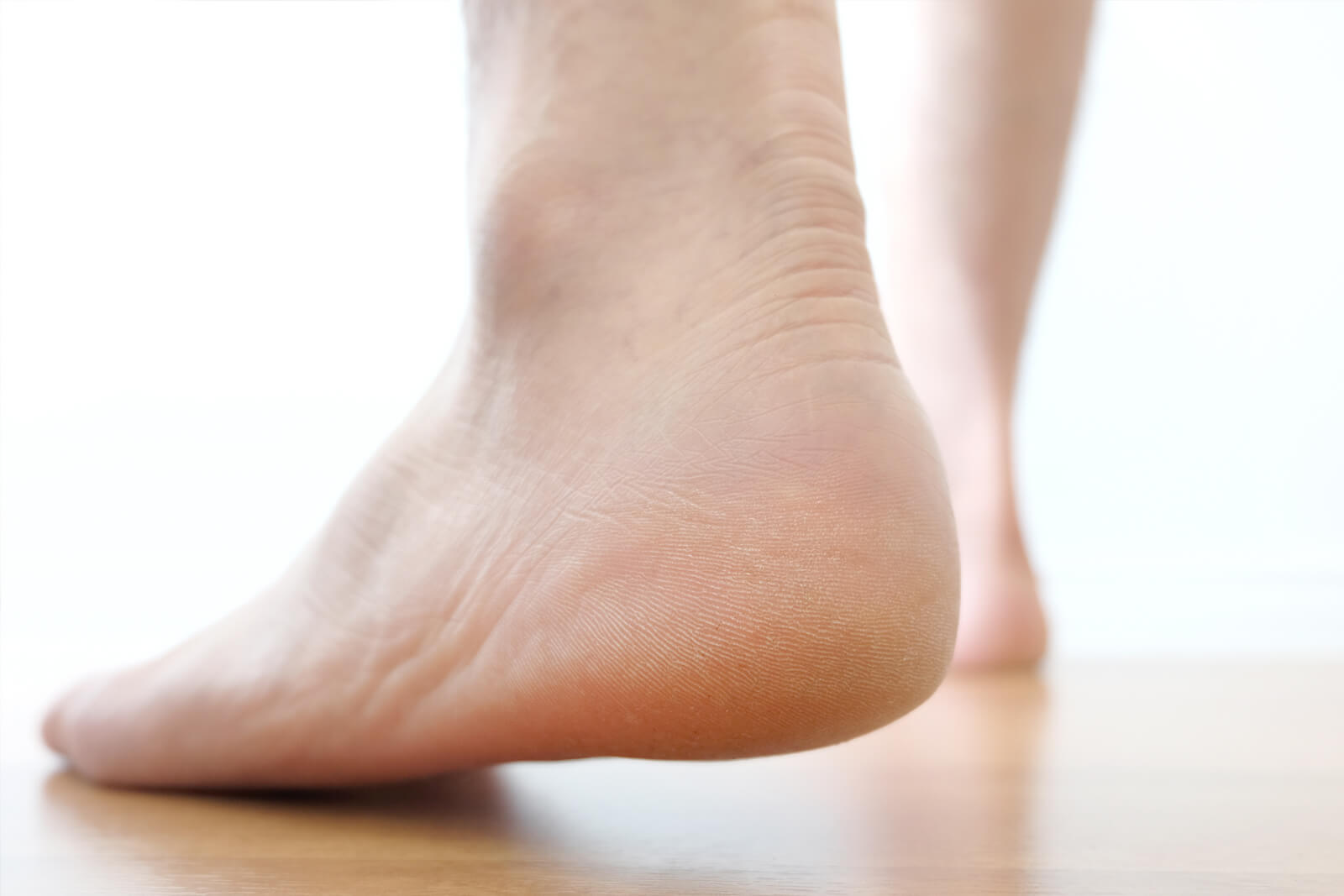 Walking can be painful if you have heel pain from plantar fasciitis