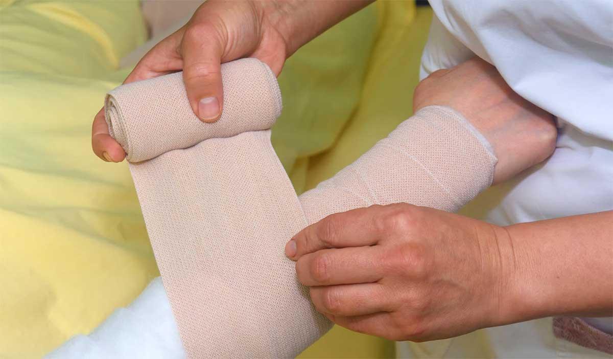 lymphedema-arm-compression-wrap